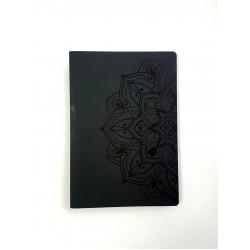 """Скетчбук для графики с черной бумагой """"Мандала Большая"""" А5 (100г/м2, 64 с)"""