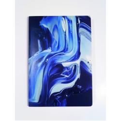 """Скетчбук для маркеров А5 """"Синий акрил""""160 г/м2, 60 листов"""