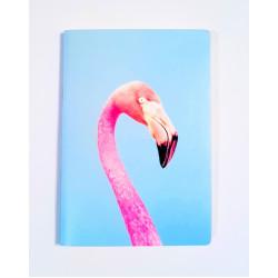 "Скетчбук для маркеров А5 ""Фламинго"" 160 г/м2, 60 листов"