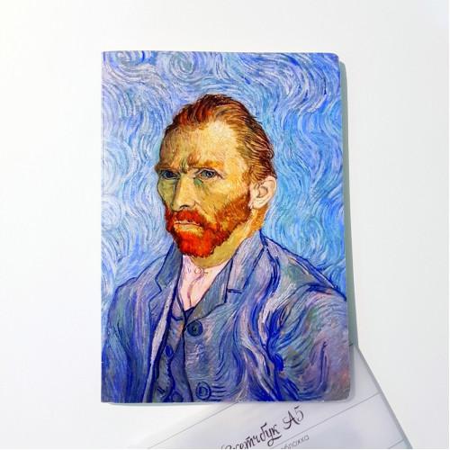 "Скетчбук для маркеров А5 ""Ван Гог"" 160 г/м2, 60 листов"