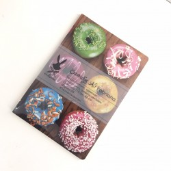 "Скетчбук А5 Fabriano ""Пончики"" для графики, 110 г/м, 68 стр"