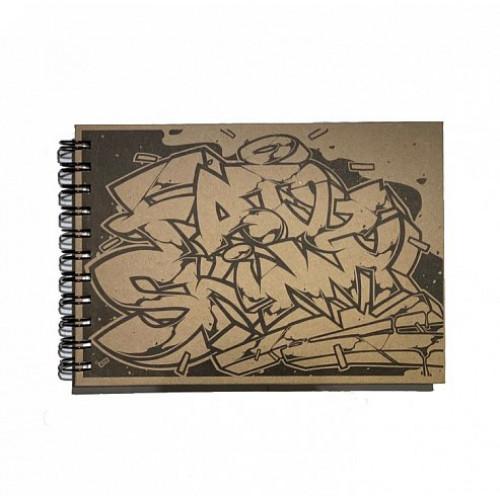 Cкетчбук Fat&Skinny SUNCHOS А6 на пружине