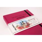 Скетчбук Малевичъ для акварели Veroneze, розовый, 200 г/м, 15х20 см, 50л