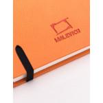 Скетчбук Малевичъ для акварели Veroneze, оранжевый, 200 г/м, 14,5х14,5 см, 40л
