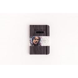 Скетчбук Малевичъ для графики GrafArt, Dark Wood, 150 г/м, 9,5 х 14,5 см, 48л