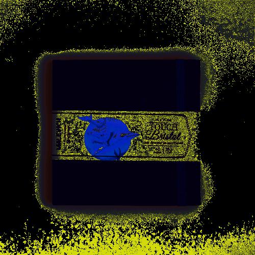 Скетчбук Малевичъ для графики и маркеров Bristol Touch, индиго, 180 г/м, 14х14 см, 40л