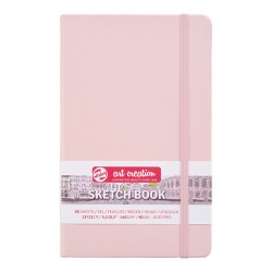 Скетчбук Royal Talens Art Creation 140 г/м2 13*21 см 80 л. розовый