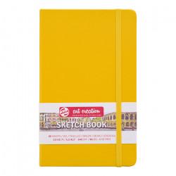 Скетчбук Royal Talens Art Creation 140 г/м2 13*21 см 80 л. желтый