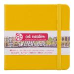 Скетчбук Royal Talens Art Creation 140 г/м2 12*12 см 80 л. желтый