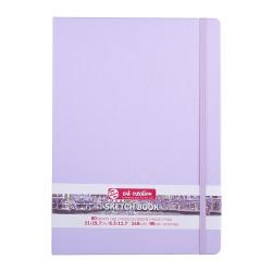 Скетчбук Art Creation 140 г/кв.м 21*30 см 80л, фиолетовый пастельный