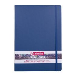 Скетчбук Art Creation 140 г/кв.м 21*30 см 80л, синий морской