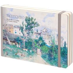 "Скетчбук - альбом для рисования с листами крафт ""Art zone"", 120*180 мм, 80л, 100г/м2"