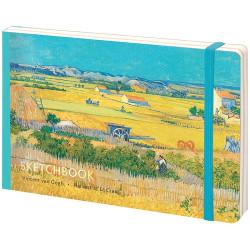 "Скетчбук - альбом для рисования с листами крафт ""Van Gogh"",  А5, 80 л, 100г/м2"