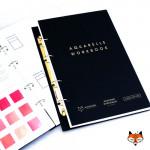 "Блокнот ""Aquarelle workbook"" Maxgoodz для акварели, 18х27см, 26л, 185г"