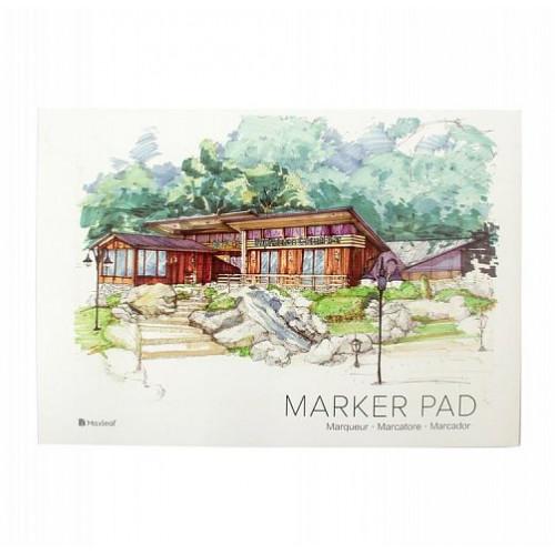Скетчбук Maxleaf Marker pad А3, 32 л, 160г/м2