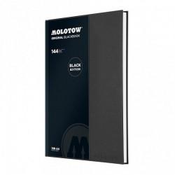 Скетчбук Molotow BlackBook A4 Portrait 144 лист 120 г/м.кв
