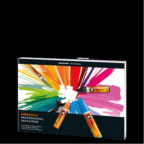 Скетчбук ONE4ALL Professional Artbook A4, 96 листов 150г/кв.м
