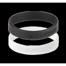 Набор браслетов Molotow черный/белый