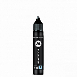 Заправка Blackliner Brush, 30 мл, Molotow