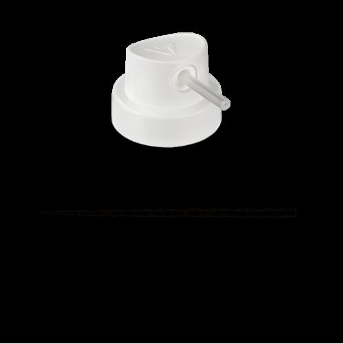 Кэп Needle Molotow с трубкой белой 0,4-1,2см