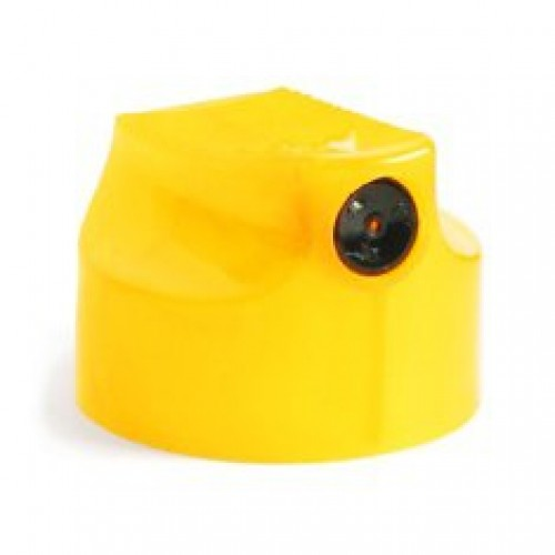 Кэп для баллонов Universe Skinny, желтый с черной вставкой