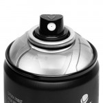 Аэрозольная краска MTN Hardcore / хром серебро 400 мл