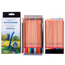 Набор профессиональных цветных карандашей Мастер-класс, 24 цвета