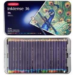 Набор чернильных карандашей Inktense 36 цв в метал.упаковке