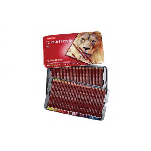 Набор пастельных карандашей Pastel 72 цв в метал.упаковке