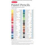 Набор пастельных карандашей Pastel 36 цв в метал.упаковке
