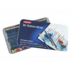Набор акварельных карандашей Watercolour 36 цв в метал.упаковке