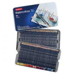 Набор акварельных карандашей Watercolour 72 цв в метал.упаковке