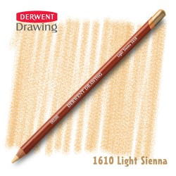 Карандаш Derwent Drawing 1610 Сиена светлая (Light-Sienna)