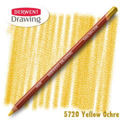 Карандаш Derwent Drawing 5720 Охра желтая (Yellow-Ochre)