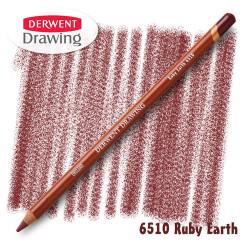 Карандаш Derwent Drawing 6510 Рубиновый земляной (Ruby-Earth)