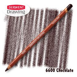 Карандаш Derwent Drawing 6600 Шоколадный (Chocolate)