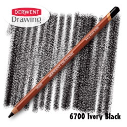 Карандаш Derwent Drawing 6700 Жженая кость (Ivory-Black)
