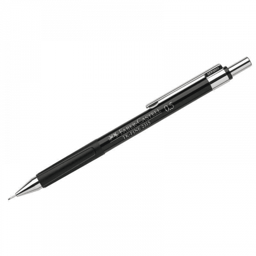 "Карандаш механический Faber-Castell ""TK-Fine 2315"", HB, 0,5мм, черный корпус"