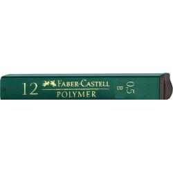 """Грифели для механических карандашей Faber-Castell """"Polymer"""", 0,5мм, B"""