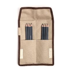 Набор карандашей Малевичъ Graf'Art 8 шт в карманном пенале