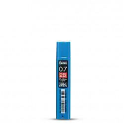 Грифели для карандашей Pentel Ain Stein 2B 0,7мм 12шт