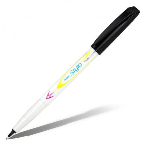 Ручка капиллярная  PENTEL STYLO с пластиковым пером, толщина линии 0,4-0,7 мм