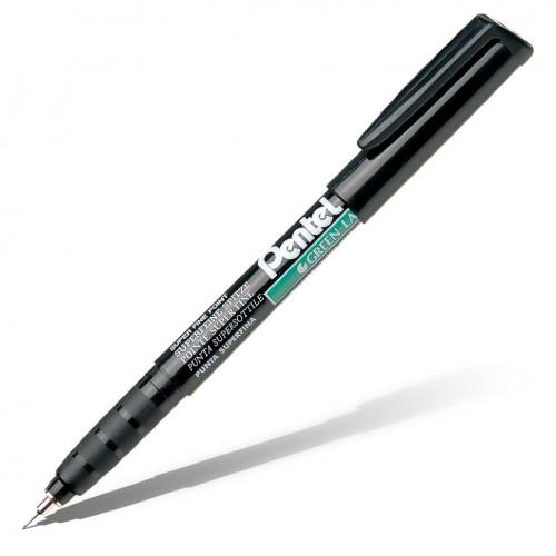 Маркер перманентный Green Label (иглообразный пишущий узел), черный, 0,6 мм