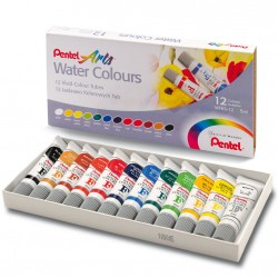 Набор акварели Pentel Water Colours, 12 цв.* 5 мл