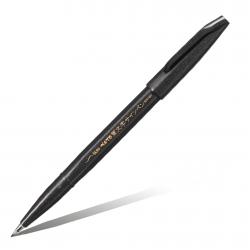 Линер-кисть для каллиграфии Pentel Brush Sign Pen Extra Fine