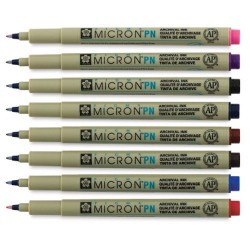 Ручка капилярная Pigma Micron PN 0.4-0.5мм Сепия