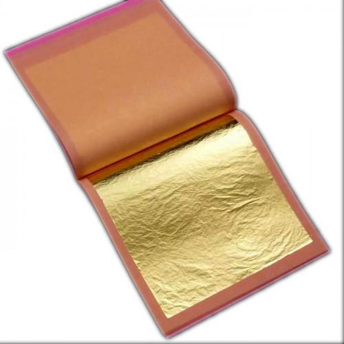 Поталь Manetti Золото №2, 14х14 см, 25 листов