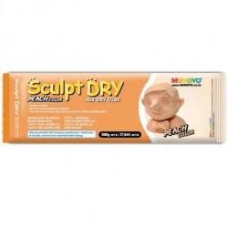 Глина для моделирования 500 гр персиковая Sculpt Dry, MUNGYO
