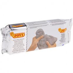 Паста для моделирования JOVI, отвердевающая, серый, 500г, вакуумный пакет
