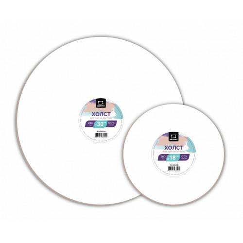 Холст на картоне Малевичъ круглый, D18 см